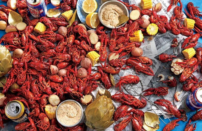 Classic mardi gras recipes southern living sls stovetop crawfish boil forumfinder Image collections