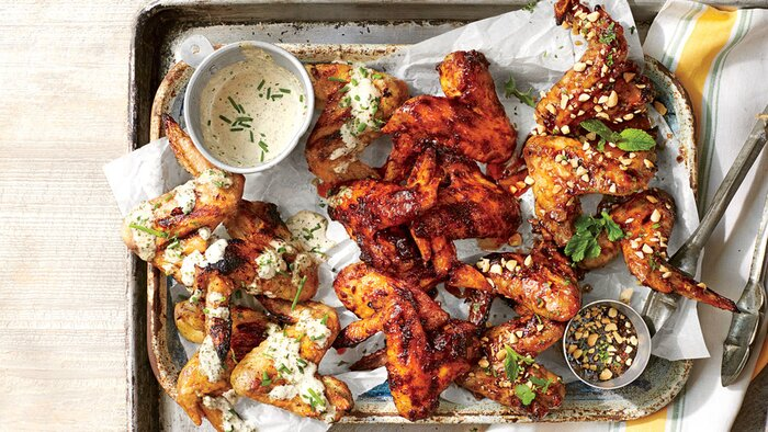 Winning chicken wing recipes southern living wonder chicken wings forumfinder Choice Image