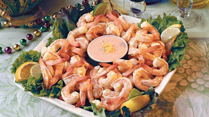 Quick and easy cajun and creole recipes southern living cajun recipes citrus marinated shrimp with louis sauce forumfinder Images