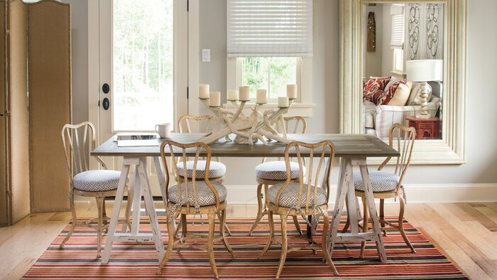 Stylish Dining Room Decorating Ideas Southern Living - How big is a dining room table