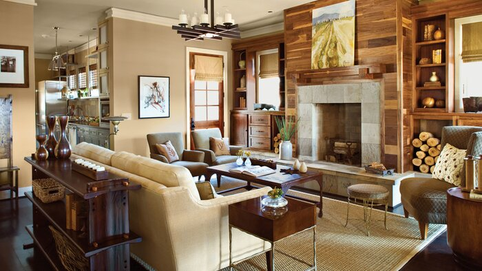 Traditional House Interior Design. Use Non Traditional Materials 106 Living Room Decorating Ideas  Southern