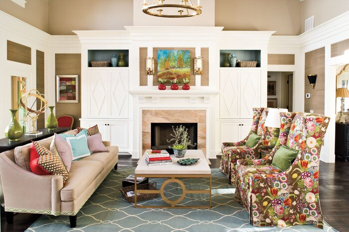 Southern Living Room Designs. Embrace Bold Prints 106 Living Room Decorating Ideas  Southern