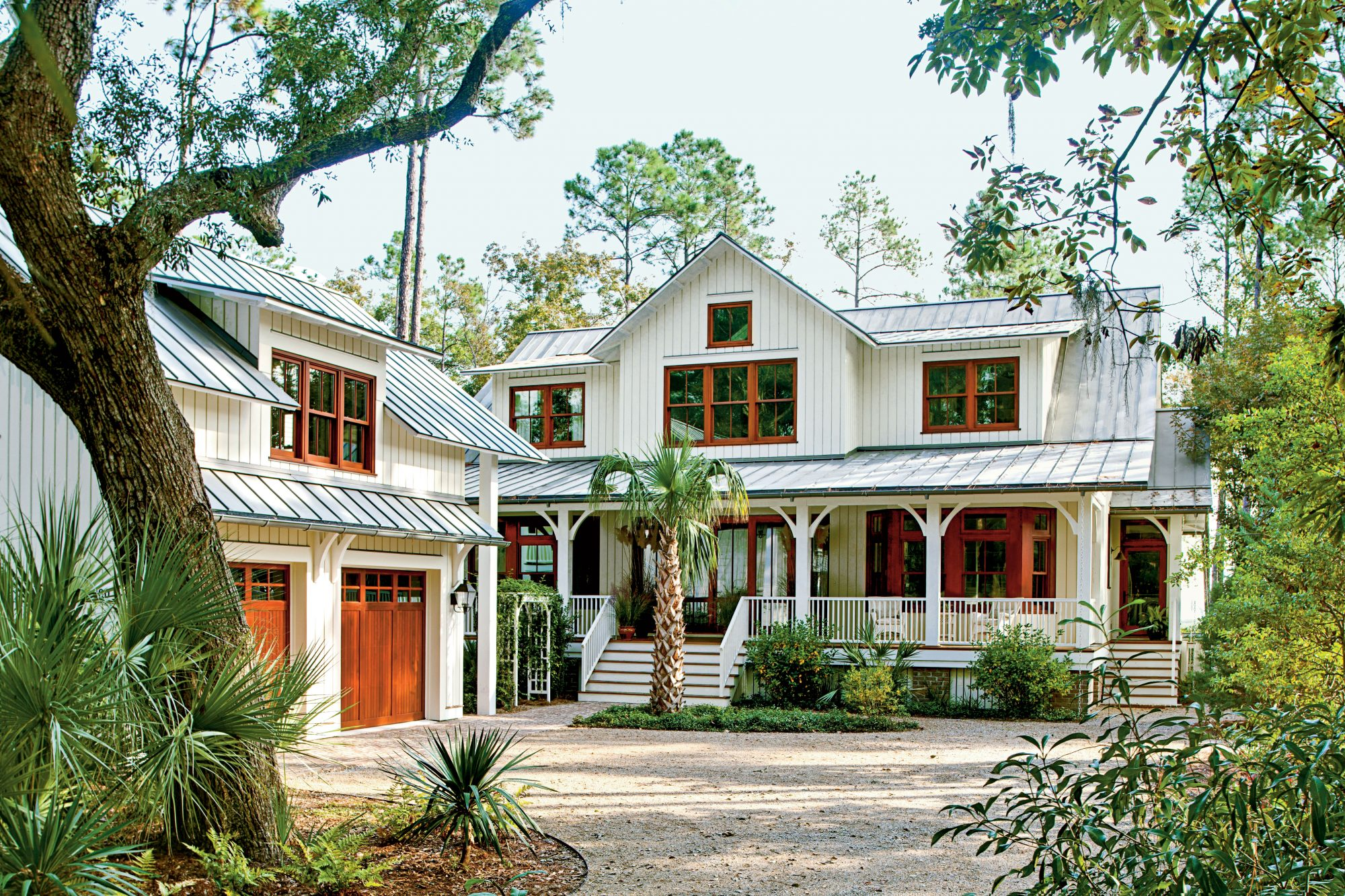 lowcountry-style house - southern living