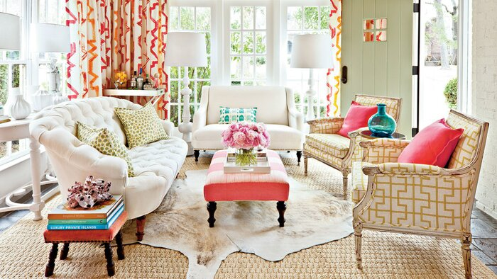 Decorating Sunrooms: Punch Up Your Palette - Southern Living