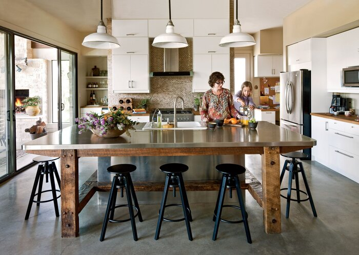 Texas Urban Country Kitchen - Southern Living