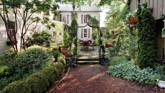 Shady Garden Design Ideas Southern Living - Backyard retreat ideas