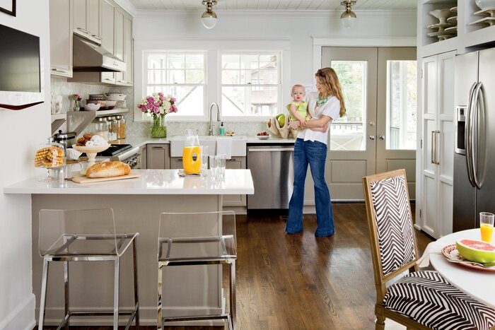 Cottage Kitchen Makeover Decorating Tips & Ideas - Southern Living
