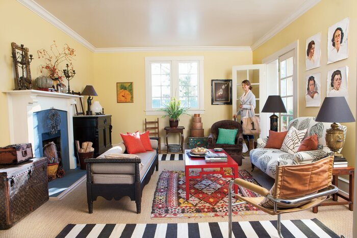 Modern Vintage Decorating Ideas - Southern Living