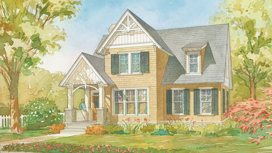 southern living small house plans. Ellsworth Cottage, Plan #1351 Southern Living Small House Plans F