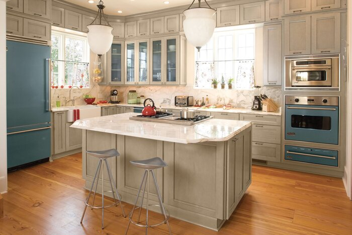 Kitchen Layouts and Essential Spaces - Southern Living