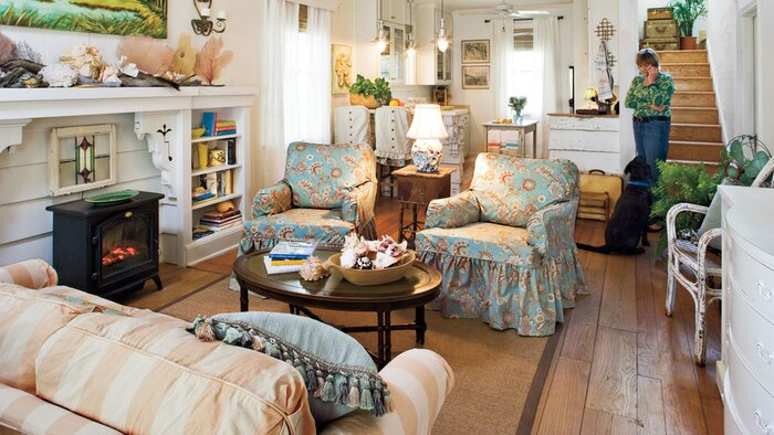 Slipcovered in Style - Southern Living