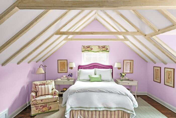 purple paint colors for bedrooms. Tranquil Pueple Bedroom Purpler Paint Colors  Southern Living