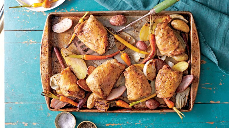 Chicken with Potatoes and Carrots