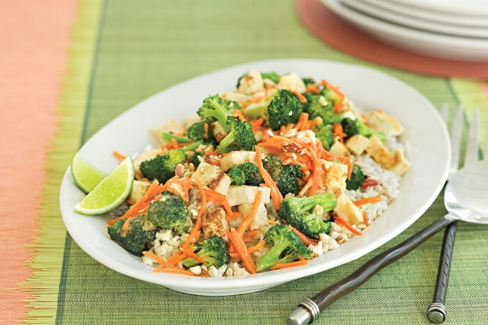 Our 50 healthiest recipes of all time southern living peanut broccoli stir fry forumfinder Gallery