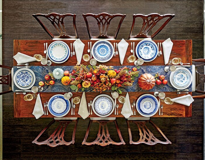 The Best Thanksgiving Setting for Your Table Shape - Southern Living