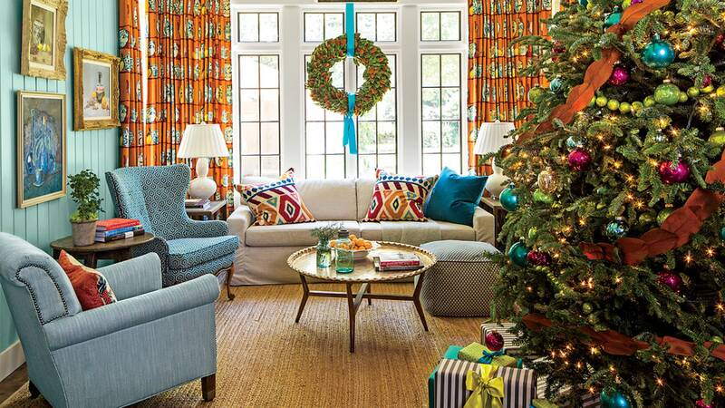 Our Favorite Living Rooms Decorated for Christmas - Southern Living