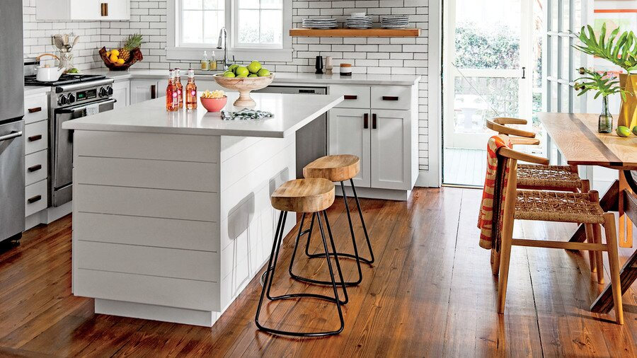 Imaginecozy Staging A Kitchen: A Major Renovation Of The Interior Allows This Space To Blend