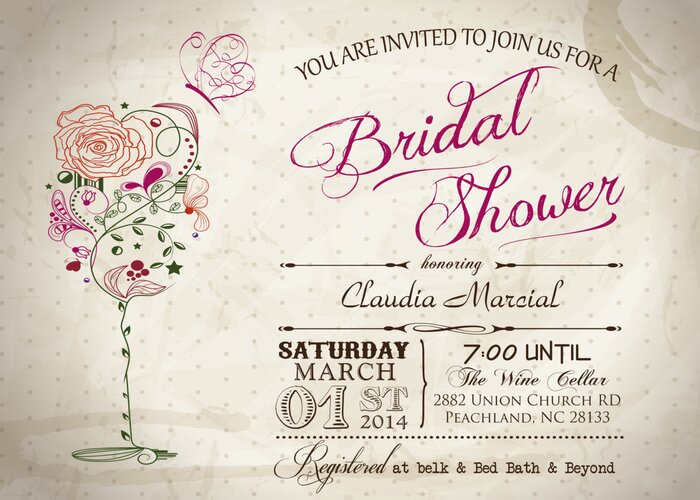 Vintage finds to elevate any bridal shower southern living vintage wine butterfly bridal shower printable invitation filmwisefo Image collections