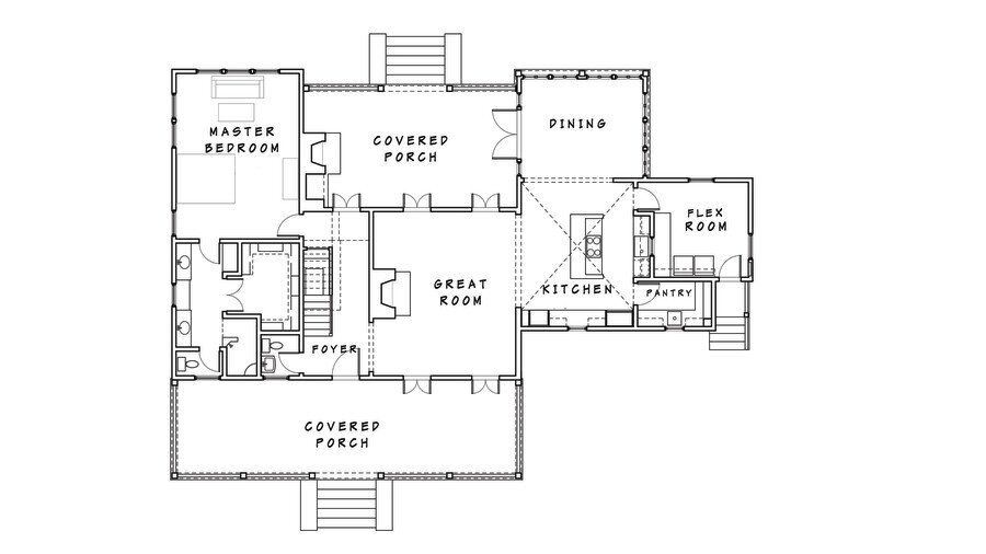Were Making A Case For The Not So Open Floor Plans Southern Living
