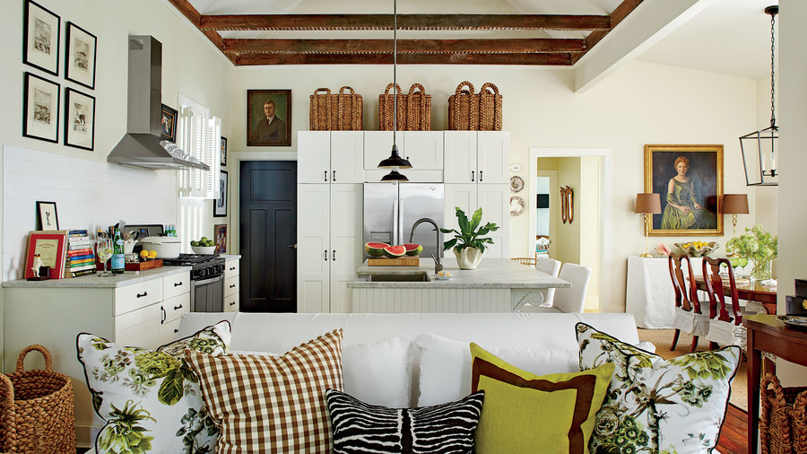 Buff Coles Charleston Living Room Kitchen And Dining Room