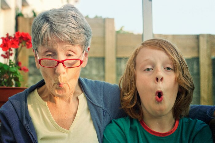 why staying close with your grandmother is more important than ever