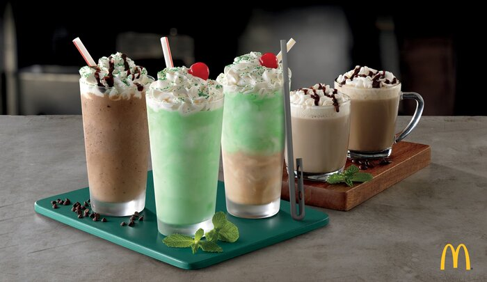 McDonald\'s Introduces 4 New Shamrock Shake Flavors