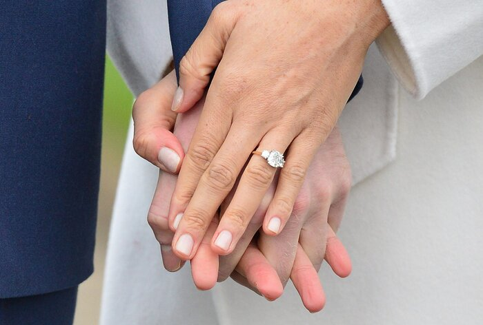 Try on engagement rings through an app southern living meghan markle engagement ring 2 junglespirit Image collections
