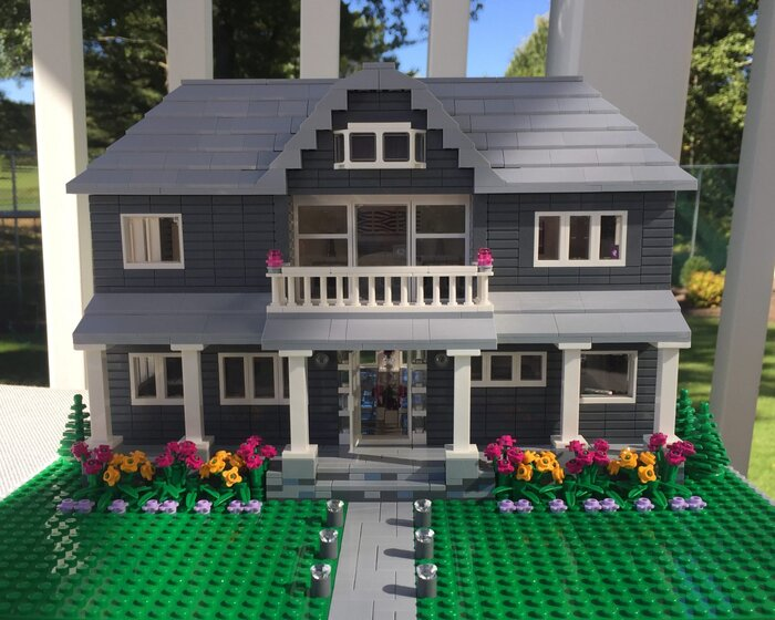 Little brick lane etsy shop southern living lego model home negle Gallery