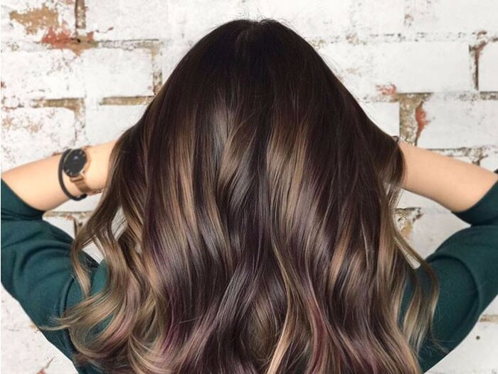 Blackberry Hair Might Be The Boldest Hair Color Trend For 2018 So