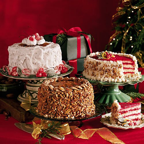 start with a cake mix to build these irrestibly easy christmas cakes - Easy Christmas Cakes
