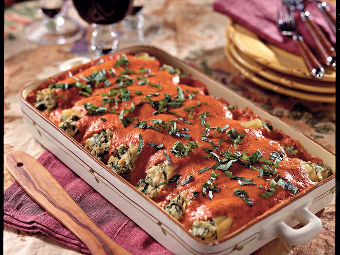 Entreesmain dishes southern living chicken cannelloni casserole recipes forumfinder Gallery