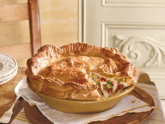 Classic and easy chicken pot pie recipes southern living classic homemade chicken pot pie recipe forumfinder Images