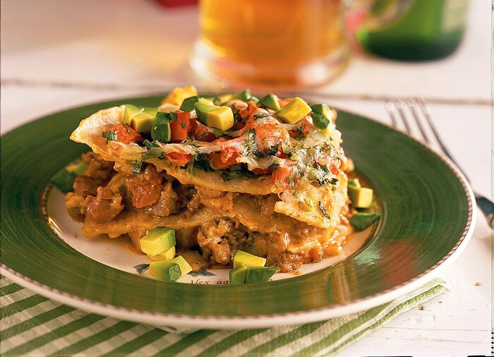 Mexican lasagna recipe southern living ground beef recipes mexican lasagna forumfinder Choice Image