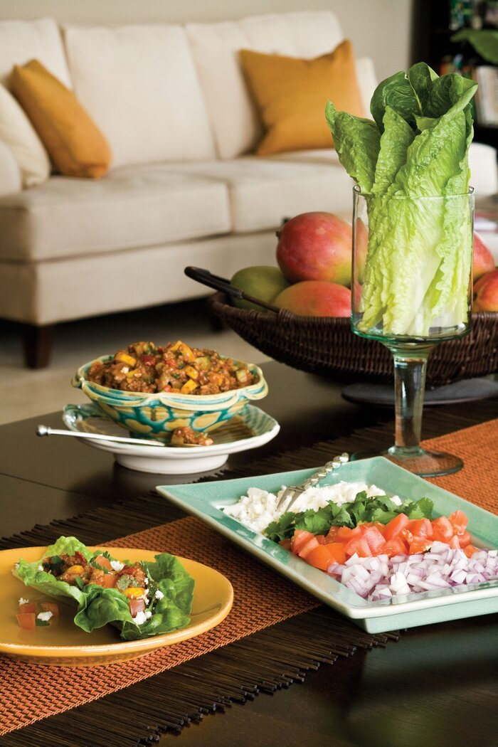 party with big flavor healthy latin recipes southern living