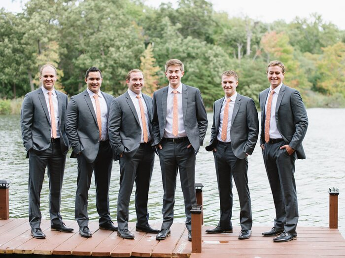 6 Wedding Day Ideas For The Groom And His Guys Southern Living