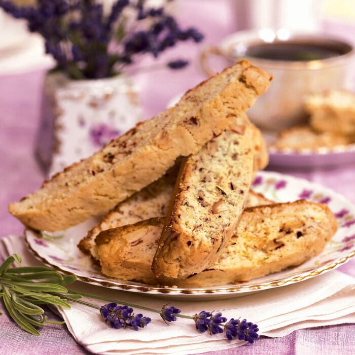 Best Cookies Recipes Biscotti With Lavender And Orange