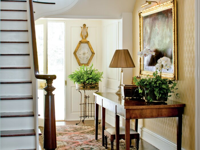 How To Decorate Your Foyer - Southern Living