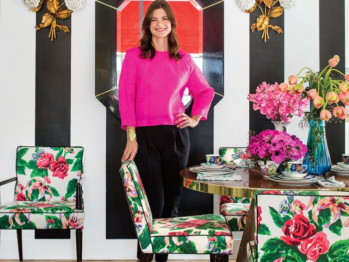 Barrie Benson\'s Edgy Approach to Chintz - Southern Living