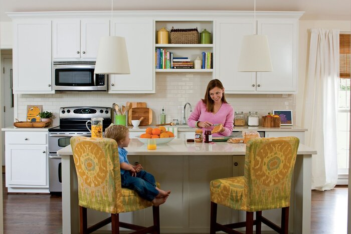 Budget Decorating Ideas: Look Into Stock Cabinetry - Southern Living