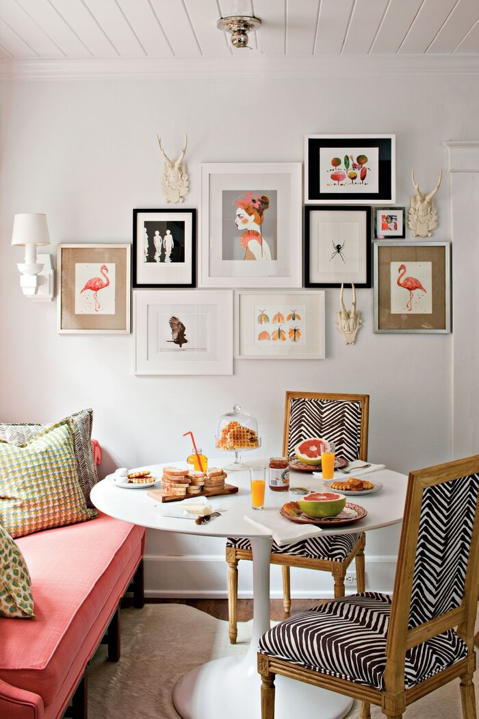 Budget Decorating Ideas Create A Gallery Wall With Art