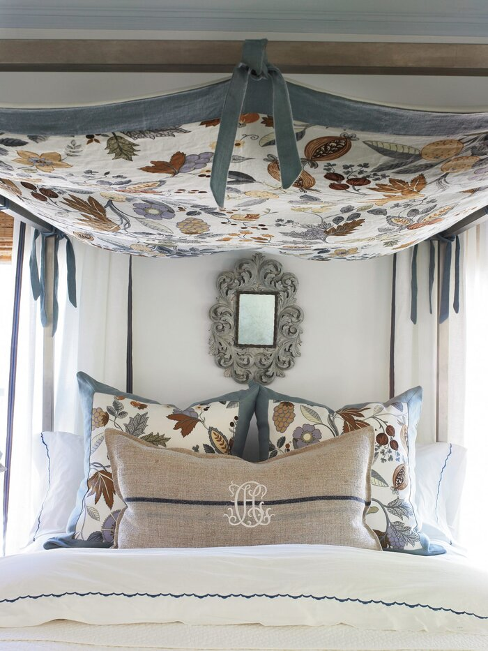 Budget Decorating Ideas: Stretch Your Fabric - Southern Living