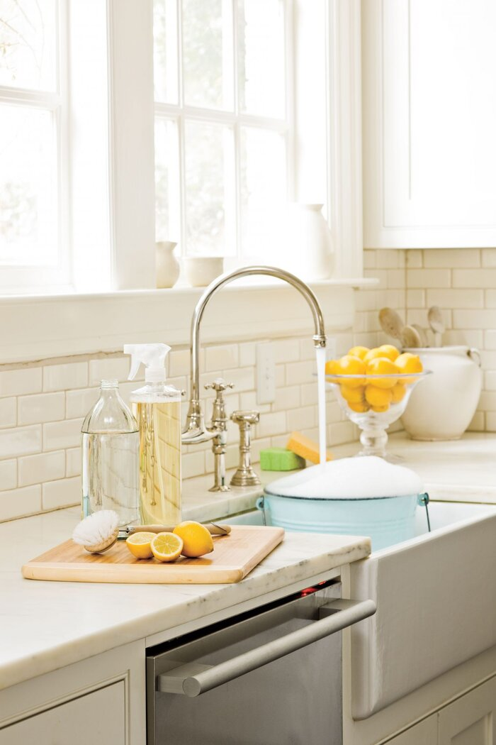 Natural Green Cleaning Products - Southern Living