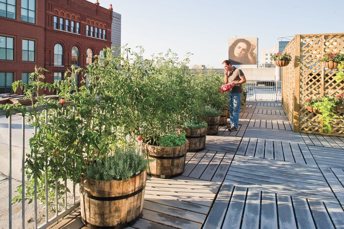 Rooftop Garden - Southern Living