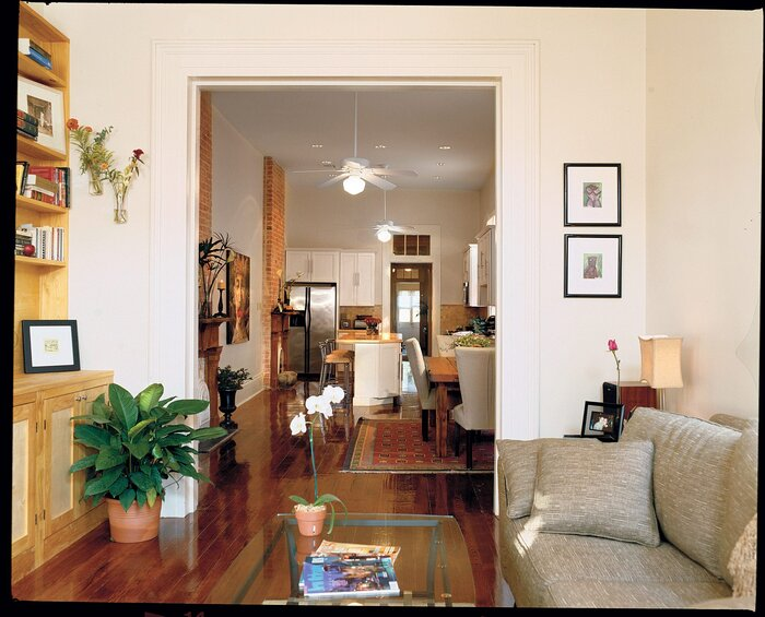 shotgun house interior. The Best Tricks for Small Spaces  A New Orleans shotgun house Southern Living
