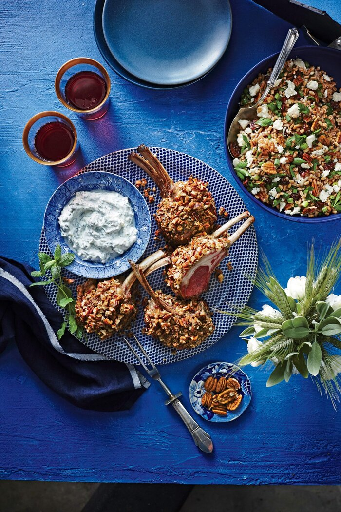 Farro salad with toasted pecans feta and dried cherries recipe farro salad with toasted pecans feta and dried cherries virginia willis forumfinder Images