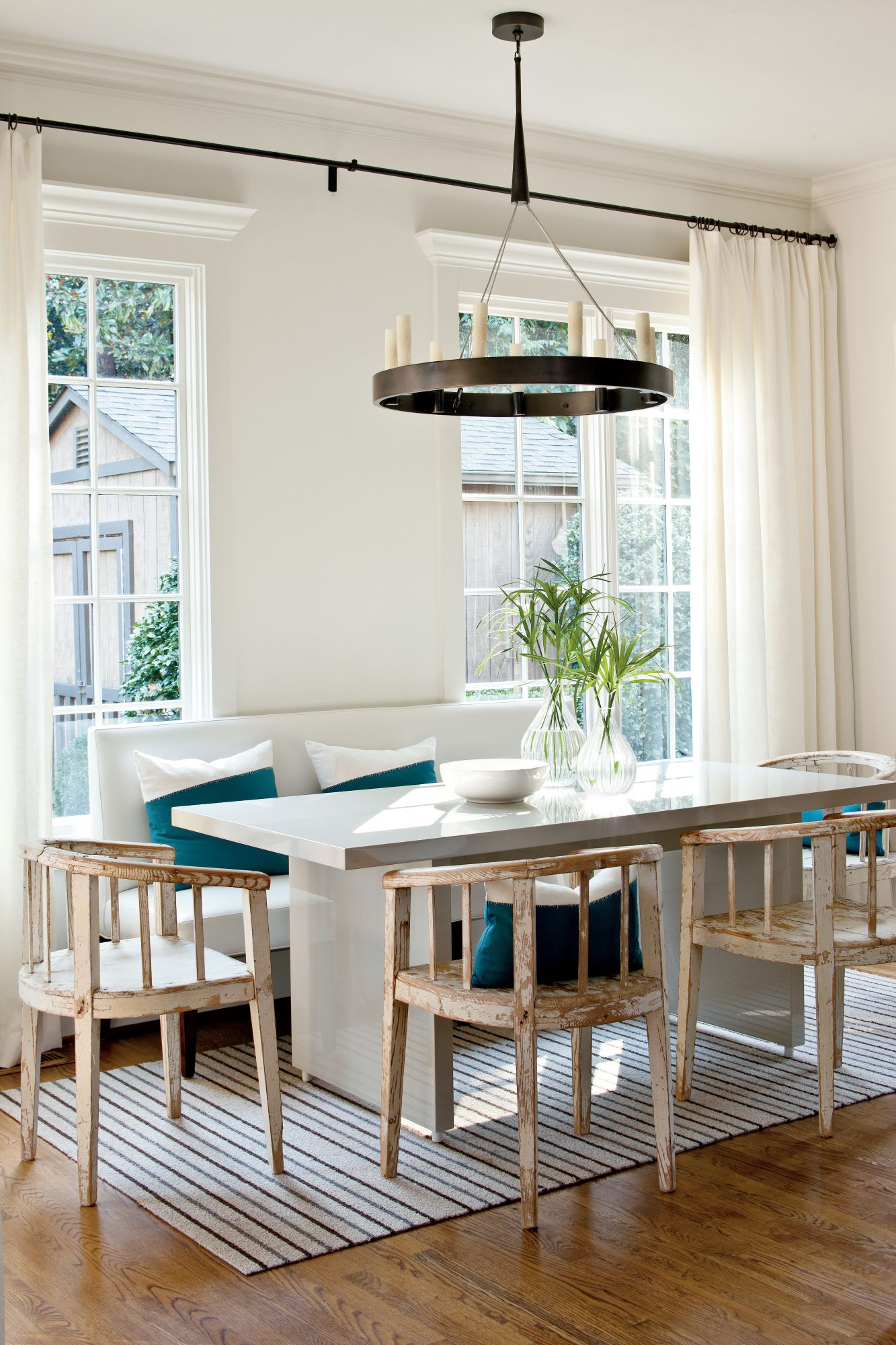 gray and white furniture. Lindsey Bond Meadows Dining Room Gray And White Furniture S