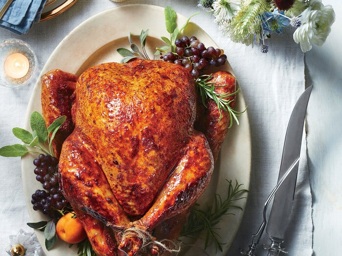 Sweet and spicy roast turkey recipe southern living sweet and spicy roast turkey forumfinder Images