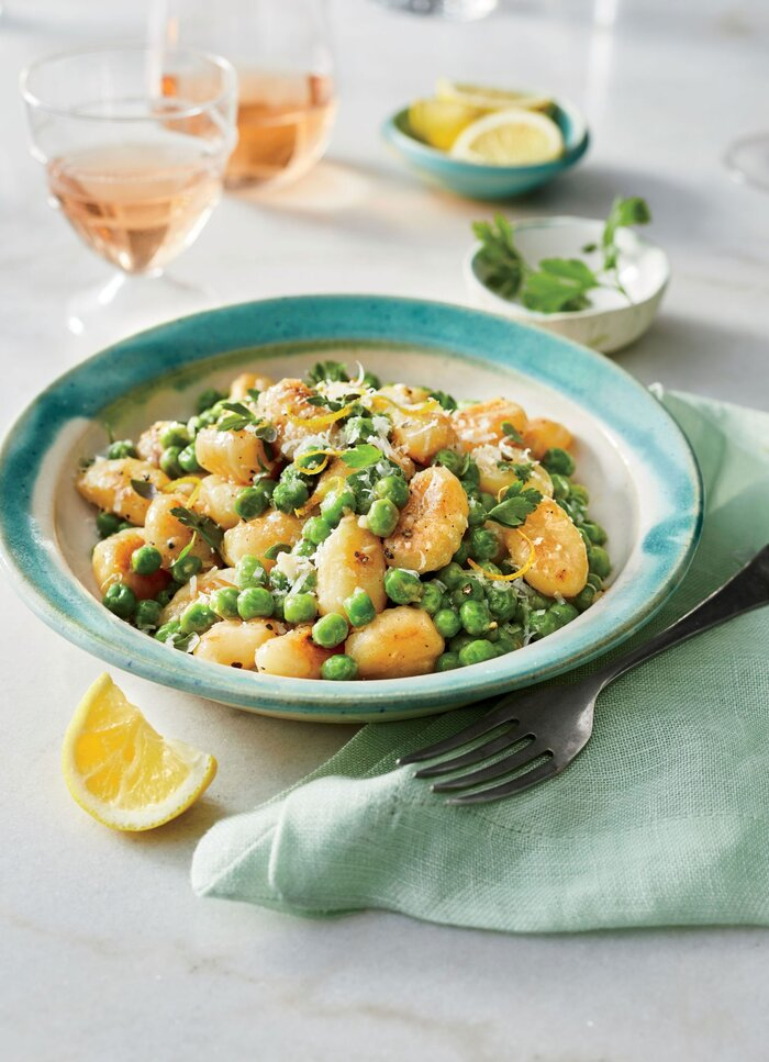 Skillet-Toasted Gnocchi with Peas Recipe - Southern Living