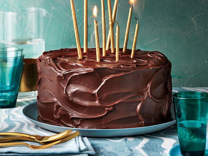 Triple Layer Chocolate Caramel Cake Recipe Southern Living