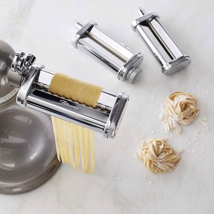kitchenaid 3 piece pasta roller cutter set - Kitchen Aid Attachments